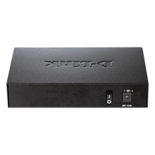 5-Port Fast Ethernet Unmanaged Switch with 1 PoE Port (DES-1005P)