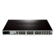 xStack 24-Port Gigabit L2+ PoE+ Switch with 4 Combo SFP and 4 SFP+ (DGS-3420-28PC)